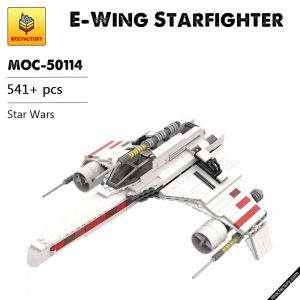 MOC 50114 E Wing Starfighter Star Wars by NeoSephiroth MOC FACTORY - MOC FACTORY