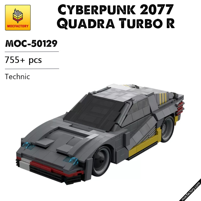 MOC 50129 Cyberpunk 2077 Quadra Turbo R Technic by GimmeInstructions MOC FACTORY 1 - MOC FACTORY