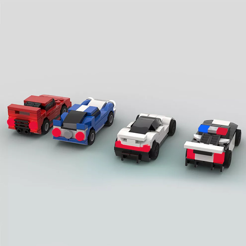 MOC 50568 Car pack 2 155 scale Creator by Mobilbenja FACTORY 2 - MOC FACTORY