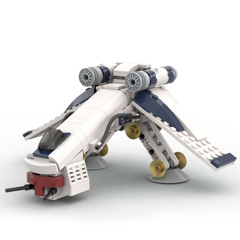 MOC 51483 Republic Dropship AT OT Midi Episode II The Clone Wars Star Wars by 6211 MOC FACTORY 2 - MOC FACTORY