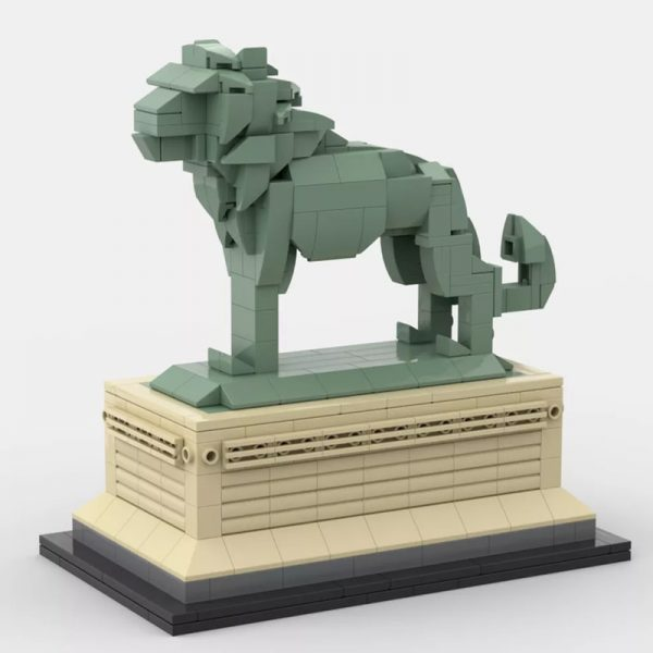 MOC 53134 Art Institute Lion Creator by bric 2 1 - MOC FACTORY