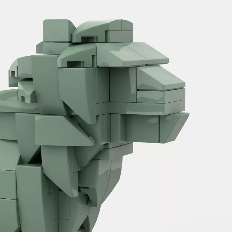 MOC 53134 Art Institute Lion Creator by bric 4 1 - MOC FACTORY