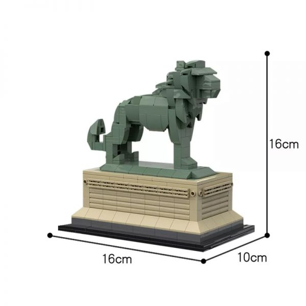 MOC 53134 Art Institute Lion Creator by bric 5 1 - MOC FACTORY