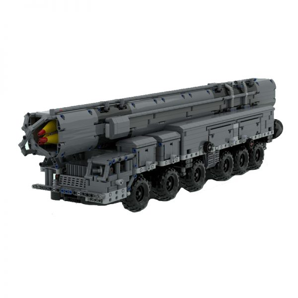 MOC 53753 MAZ 547 with RSD 10 Pioneer SS 20 Sabre Military by zz0025 MOC FACTORY 2 - MOC FACTORY