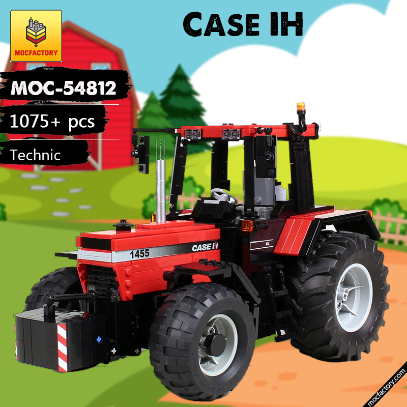 MOC 54812 Case IH Technic by M longer MOC FACTORY - MOC FACTORY