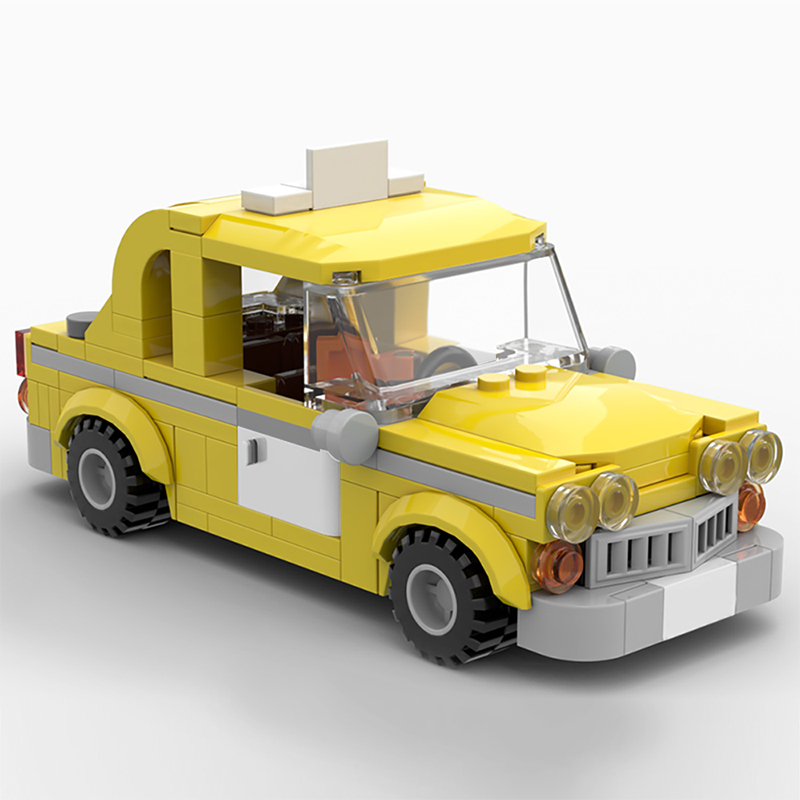MOC 56094 Taxi from Lego Marvel Superheroes Games Movie by Velandar MOC FACTORY 2 - MOC FACTORY