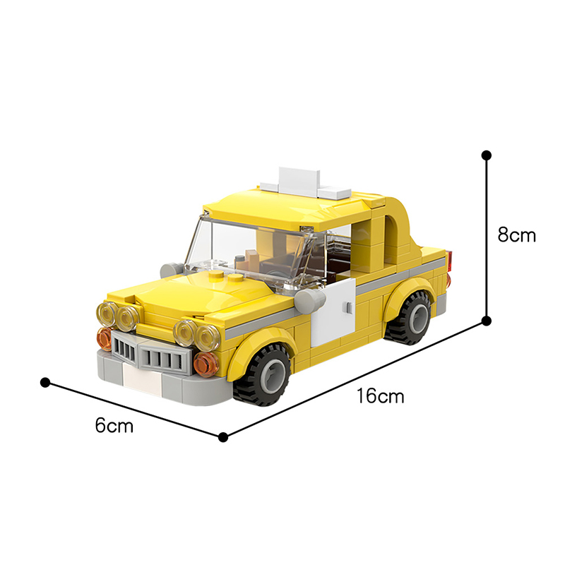 MOC 56094 Taxi from Lego Marvel Superheroes Games Movie by Velandar MOC FACTORY 3 - MOC FACTORY