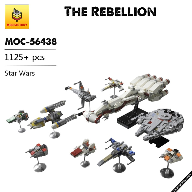 MOC 56438 The Rebellion Star Wars by onecase MOC FACTORY - MOC FACTORY