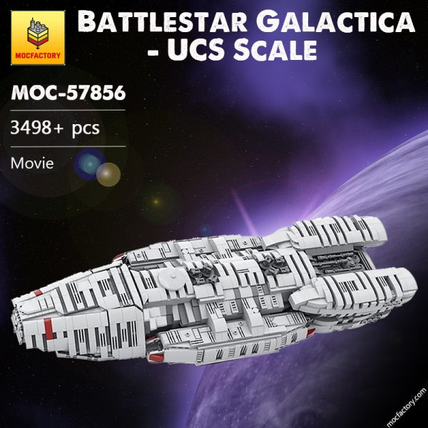 MOC 57856 Battlestar Galactica UCS Scale Movie by manglegrat MOC FACTORY - MOC FACTORY