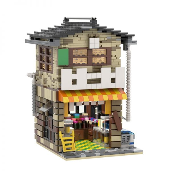 MOC 58773 Japanese Stores Modular Building by povladimir MOC FACTORY 2 - MOC FACTORY