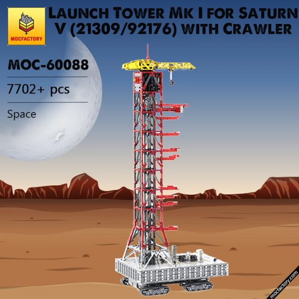 MOC 60088 Launch Tower Mk I for Saturn V 2130992176 with Crawler Space by Janotechnic MOC FACTORY 3 - MOC FACTORY