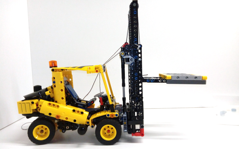 MOC Review: MOC-37091 - Heavy Duty Forklift