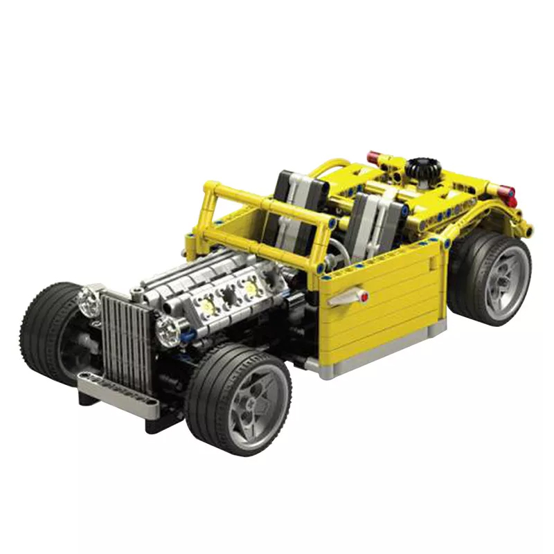 MOC 0160 Chopped Hot Rod Technic by Crowkillers MOC FACTORY 2 - MOC FACTORY
