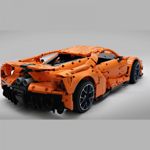 MOC 10792 FORD GT Technic by Loxlego MOC FACTORY 2 - MOC FACTORY