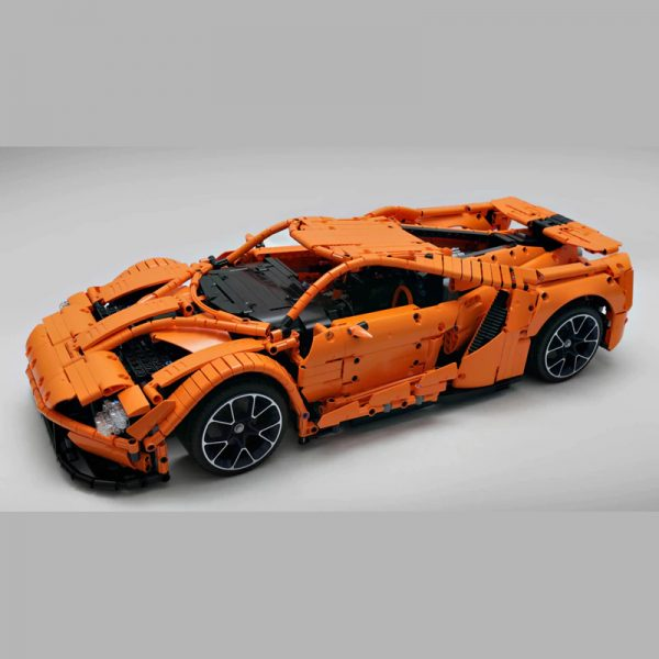 MOC 10792 FORD GT Technic by Loxlego MOC FACTORY 4 - MOC FACTORY