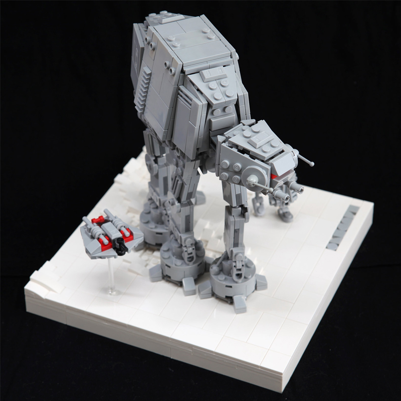 MOC 11431 AT AT Assault on Hoth Star Wars by onecase MOC FACTORY 2 - MOC FACTORY