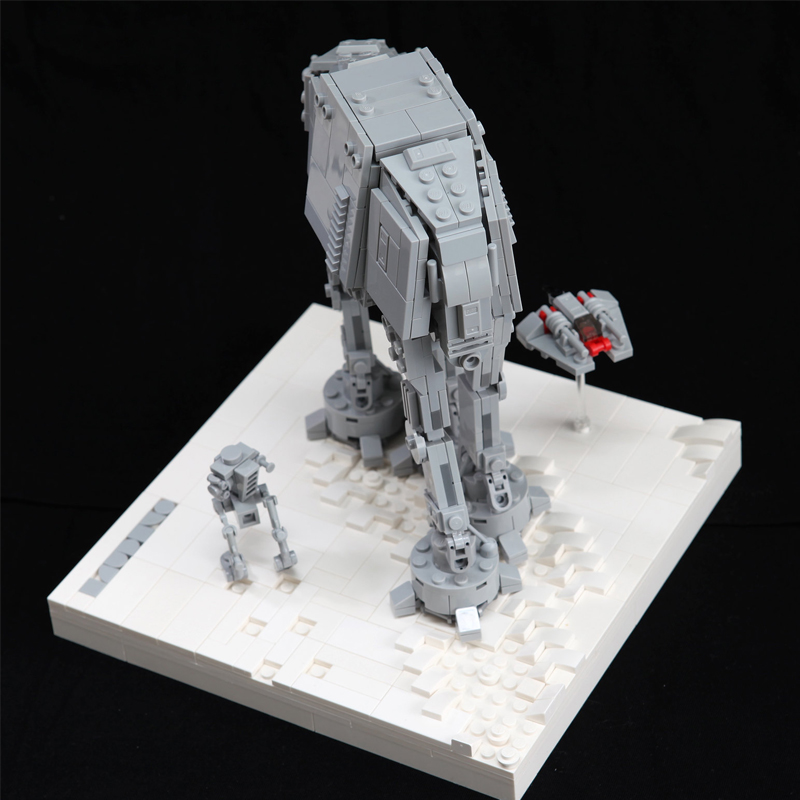 MOC 11431 AT AT Assault on Hoth Star Wars by onecase MOC FACTORY 3 - MOC FACTORY