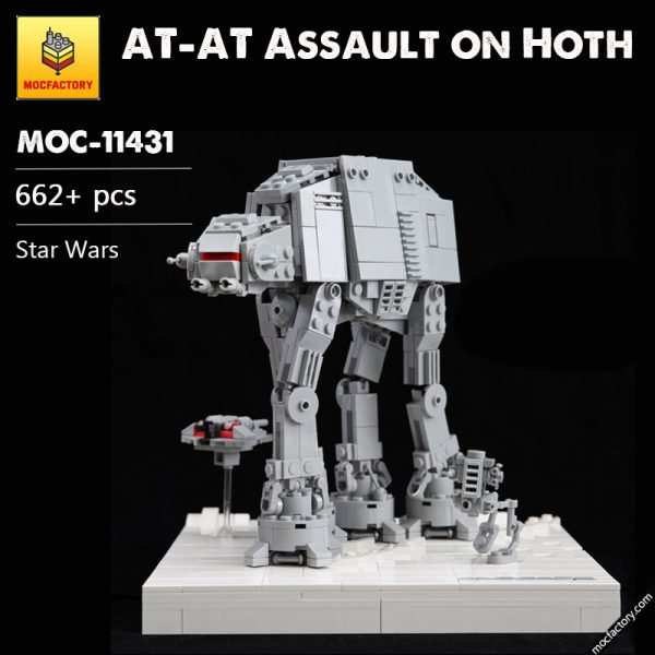 MOC 11431 AT AT Assault on Hoth Star Wars by onecase MOC FACTORY - MOC FACTORY