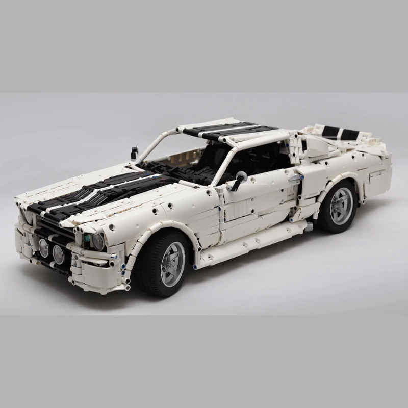 MOC 14616 1967 Eleanor Mustang Technic by Loxlego MOC FACTORY 2 - MOC FACTORY
