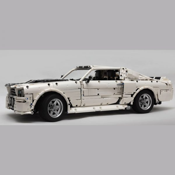 MOC 14616 1967 Eleanor Mustang Technic by Loxlego MOC FACTORY 3 - MOC FACTORY