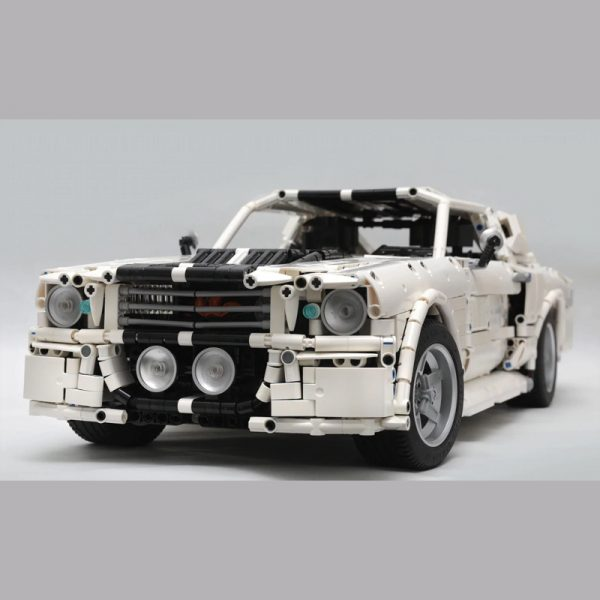 MOC 14616 1967 Eleanor Mustang Technic by Loxlego MOC FACTORY 4 - MOC FACTORY