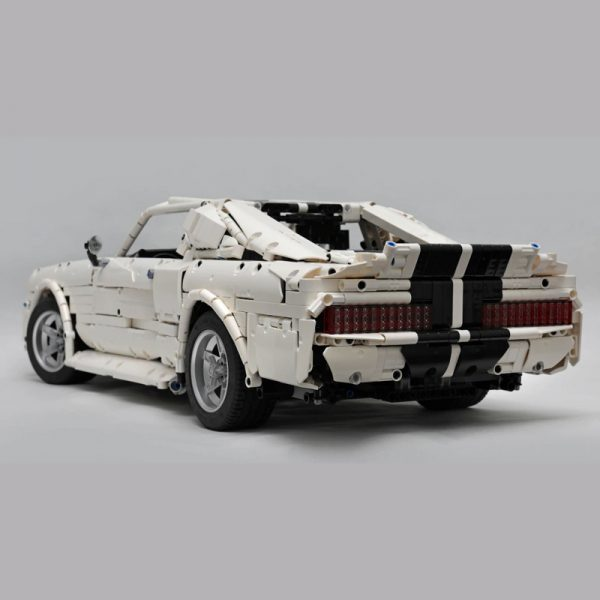 MOC 14616 1967 Eleanor Mustang Technic by Loxlego MOC FACTORY 5 - MOC FACTORY