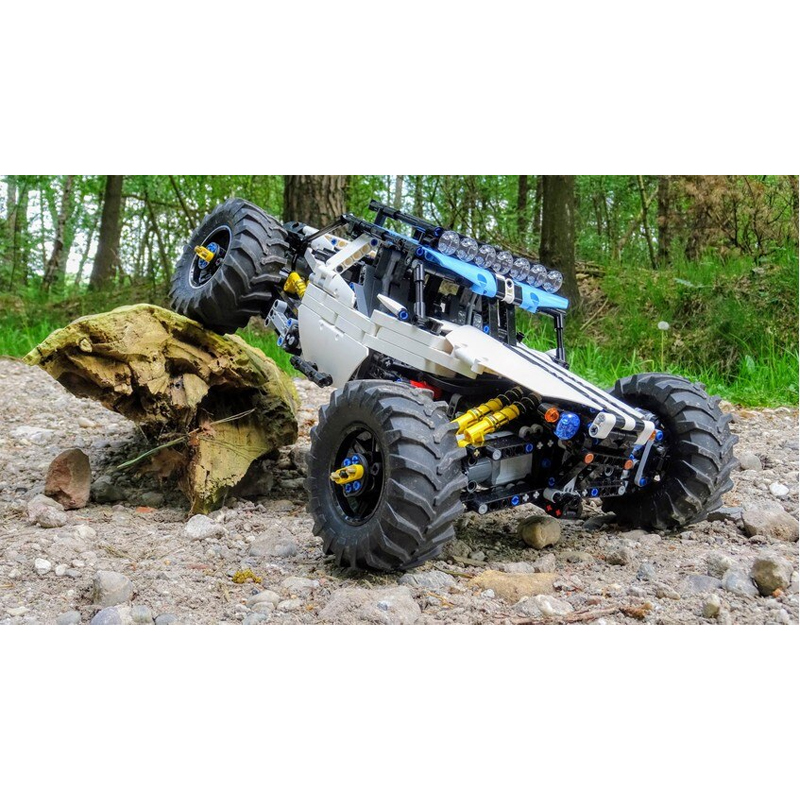 MOC 19517 4WD RC Buggy Technic by Didumos MOC FACTORY 4 - MOC FACTORY