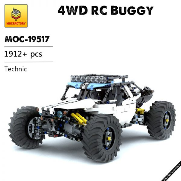MOC 19517 4WD RC Buggy Technic by Didumos MOC FACTORY - MOC FACTORY