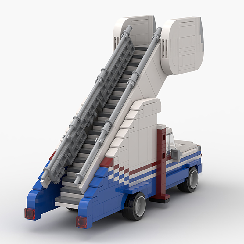 MOC 20094 Arrested Development Stair Car Technic by mkibs MOC FACTORY 2 - MOC FACTORY