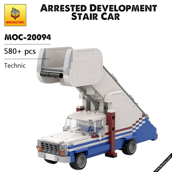 MOC 20094 Arrested Development Stair Car Technic by mkibs MOC FACTORY - MOC FACTORY