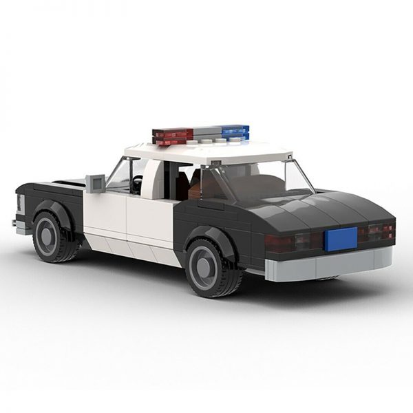 MOC 22397 Die Hard 1979 LAPD Chevrolet Impala Police Car Movie by mkibs MOC FACTORY 2 - MOC FACTORY