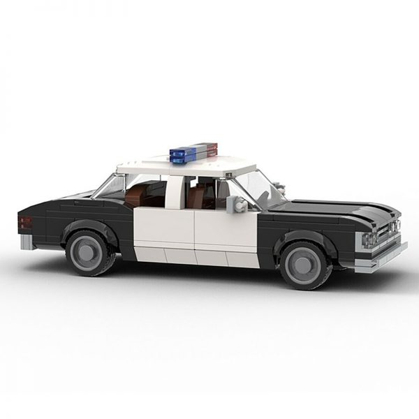 MOC 22397 Die Hard 1979 LAPD Chevrolet Impala Police Car Movie by mkibs MOC FACTORY 3 - MOC FACTORY