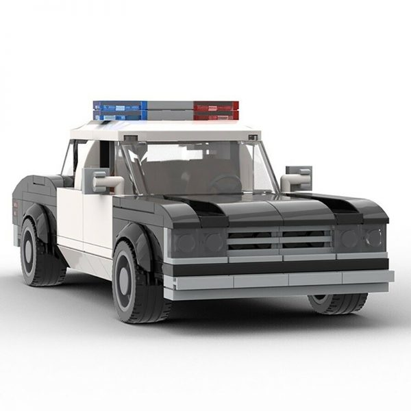 MOC 22397 Die Hard 1979 LAPD Chevrolet Impala Police Car Movie by mkibs MOC FACTORY 4 - MOC FACTORY