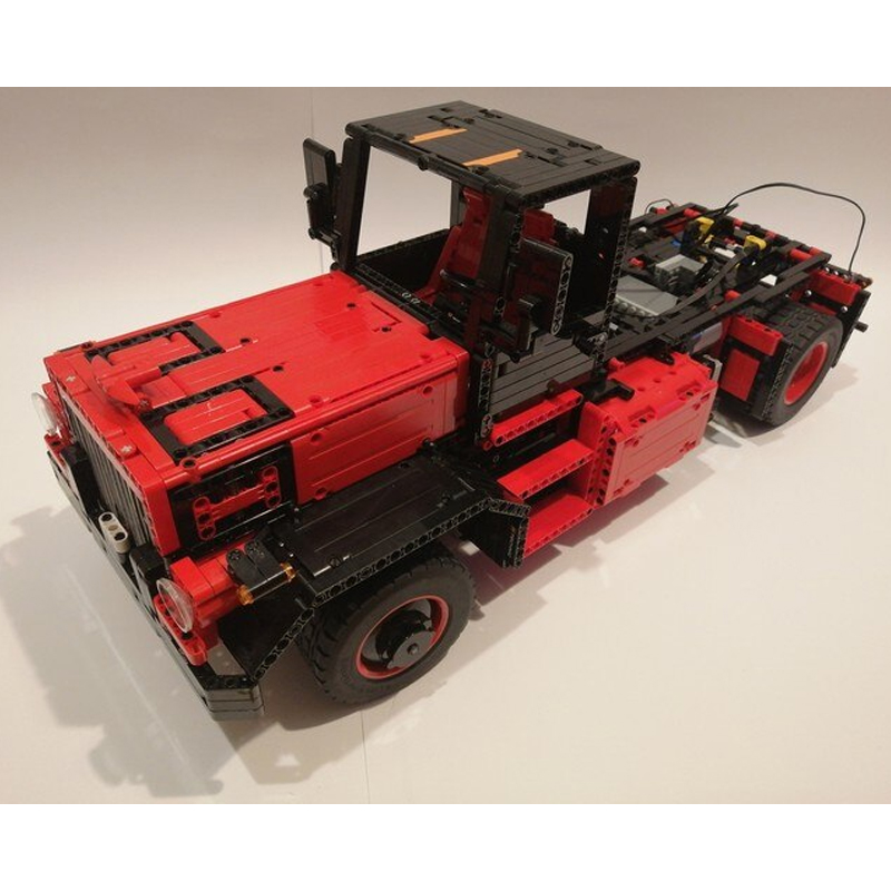 MOC 31430 Us Truck with 32 Speed Gearbox Fully RC Technic by B4 MOC FACTORY 4 - MOC FACTORY