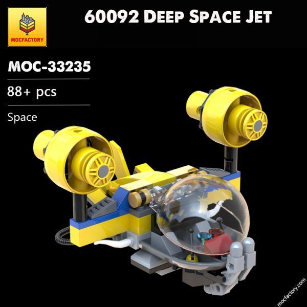 MOC 33235 60092 Deep Space Jet Space by plastic.ati MOC FACTORY - MOC FACTORY