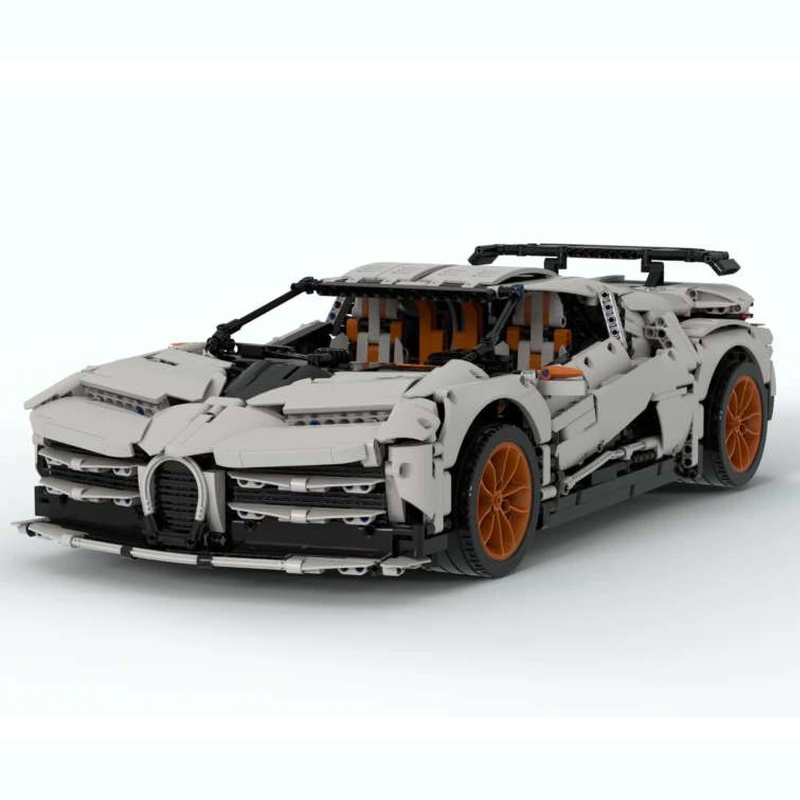 MOC 34933 Bugatti EB 110 Centodieci Hommage Technic by The one from the Swabian MOC FACTORY 2 - MOC FACTORY