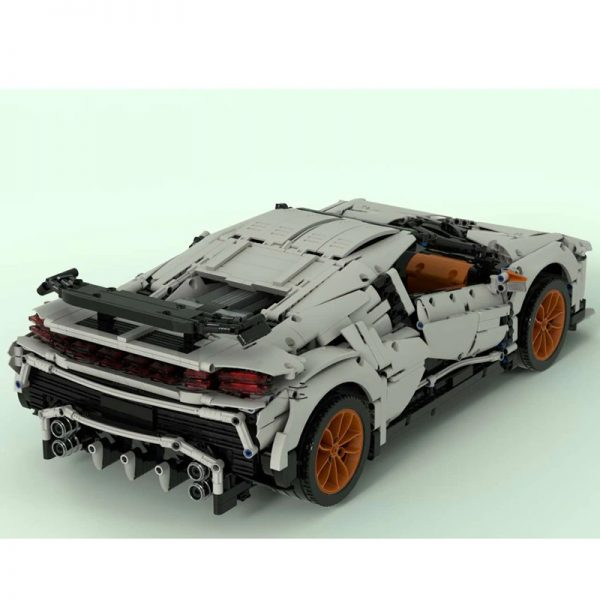MOC 34933 Bugatti EB 110 Centodieci Hommage Technic by The one from the Swabian MOC FACTORY 4 - MOC FACTORY