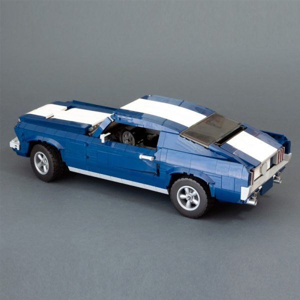 MOC 36174 10265 1967 Ford Mustang GTA Fastback Modification Technic by NikolayFX MOC FACTORY 3 - MOC FACTORY