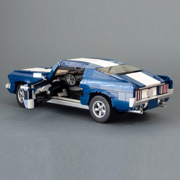 MOC 36174 10265 1967 Ford Mustang GTA Fastback Modification Technic by NikolayFX MOC FACTORY 5 - MOC FACTORY