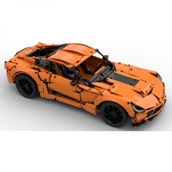 MOC 38557 Corvette C7 Z06 42056 B model Technic by GeyserBricks MOC FACTORY 2 - MOC FACTORY