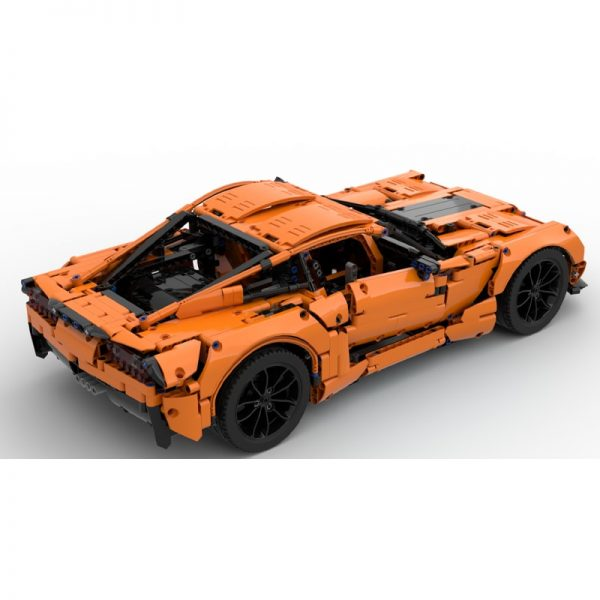 MOC 38557 Corvette C7 Z06 42056 B model Technic by GeyserBricks MOC FACTORY 3 - MOC FACTORY