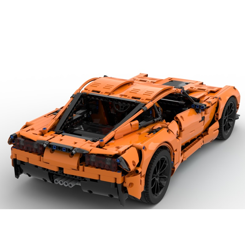 MOC 38557 Corvette C7 Z06 42056 B model Technic by GeyserBricks MOC FACTORY 4 - MOC FACTORY