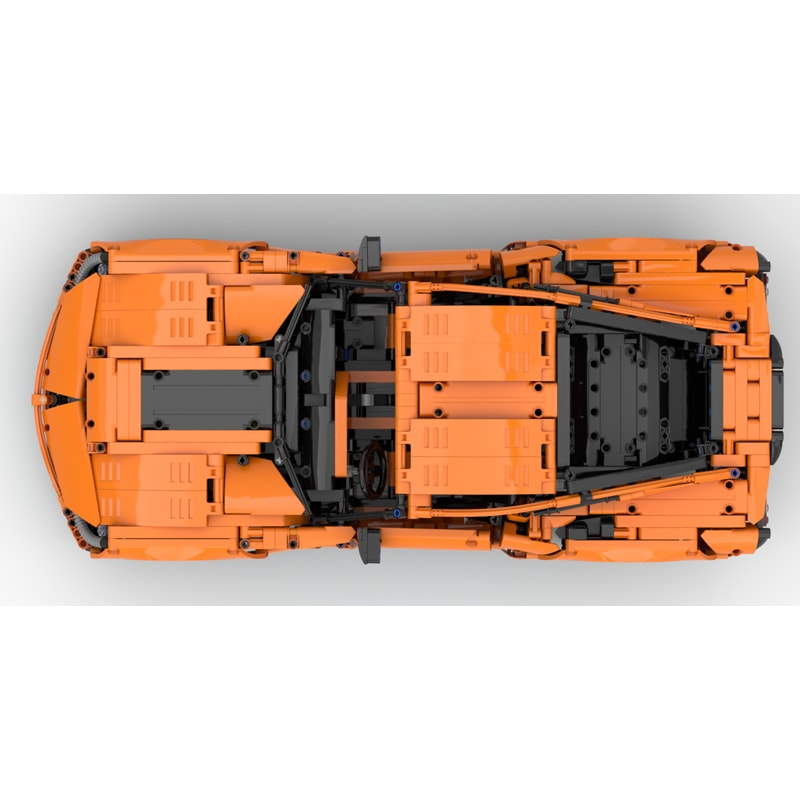 MOC 38557 Corvette C7 Z06 42056 B model Technic by GeyserBricks MOC FACTORY 5 - MOC FACTORY