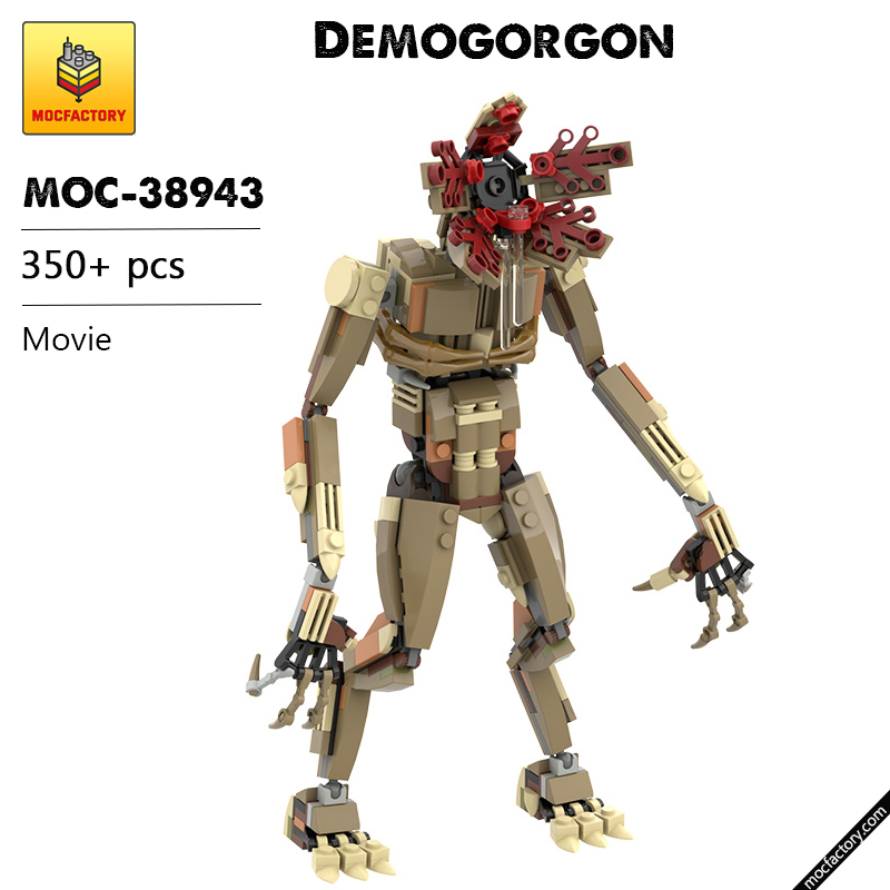 MOC 38943 Demogorgon Movie by aaron newman MOC FACTORY 1 - MOC FACTORY