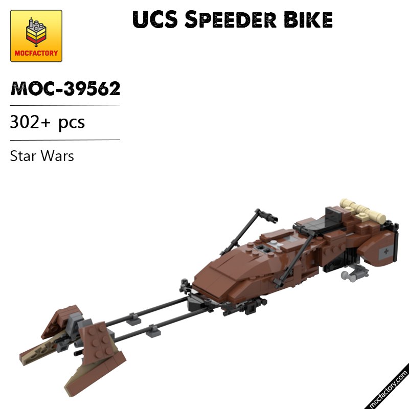 MOC 39562 UCS Speeder Bike Star Wars by Neon5 MOC FACTORY 1 - MOC FACTORY