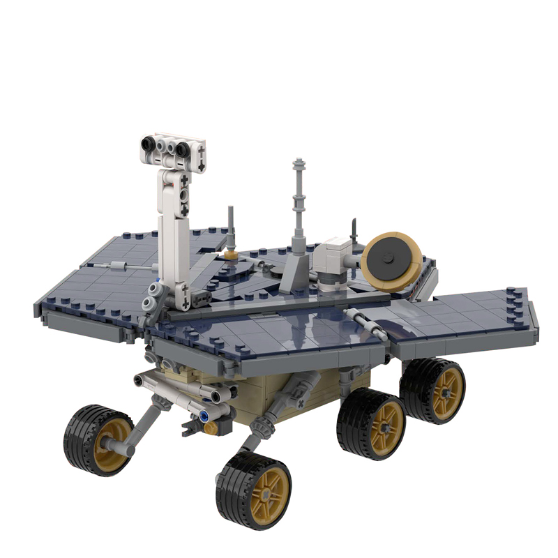 MOC 39989 UCS OpportunitySpirit Mars Exploration Rover Space by MuscoviteSandwich MOC FACTORY 2 - MOC FACTORY