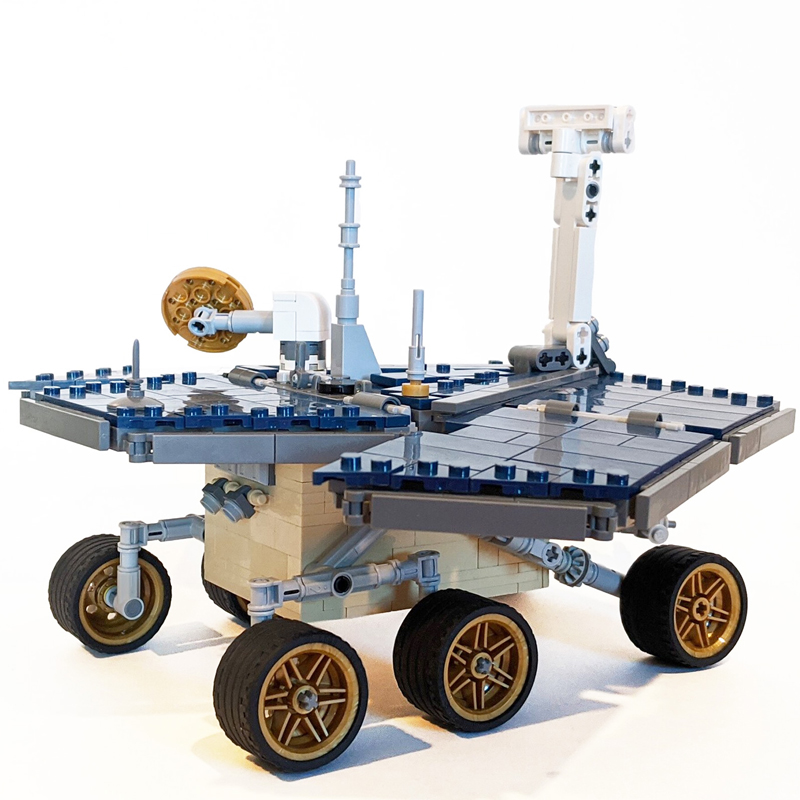 MOC 39989 UCS OpportunitySpirit Mars Exploration Rover Space by MuscoviteSandwich MOC FACTORY 3 - MOC FACTORY