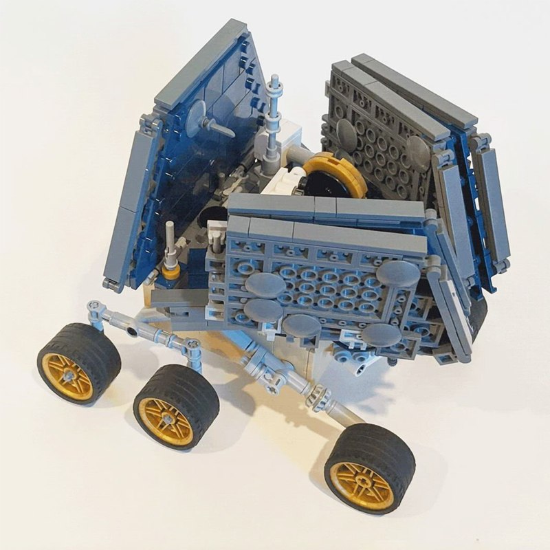 MOC 39989 UCS OpportunitySpirit Mars Exploration Rover Space by MuscoviteSandwich MOC FACTORY 4 - MOC FACTORY