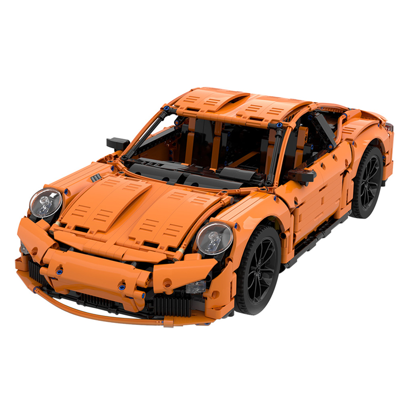 MOC 40207 Porsche 991 Carrera 2016 42056 B Model Technic by GeyserBricks MOC FACTORY 2 - MOC FACTORY