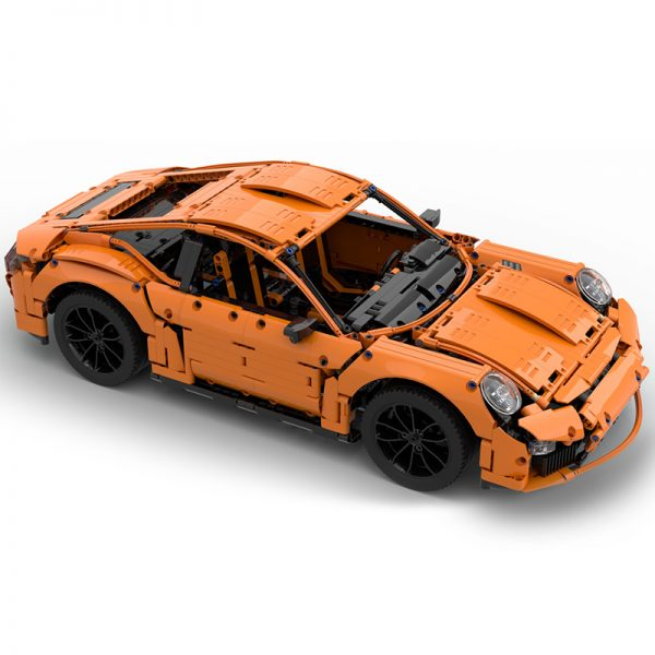 MOC 40207 Porsche 991 Carrera 2016 42056 B Model Technic by GeyserBricks MOC FACTORY 3 - MOC FACTORY
